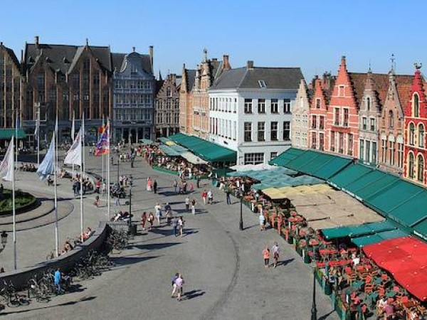 Cycling Holidays - Brussels to Bruges via Ghent