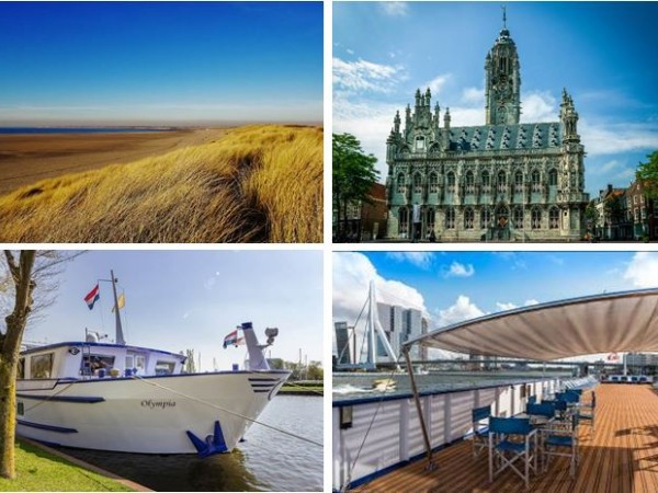 Cycling Holidays - Bike & Barge: Rotterdam to the Province of Zeeland 2020