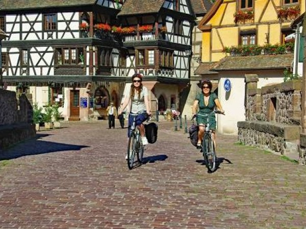 Cycling Holidays - Basel to Strasbourg
